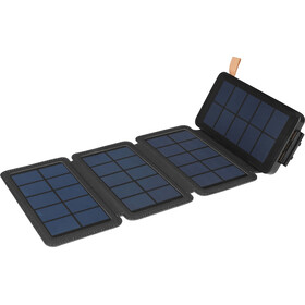 Sandberg Solar 4-Panel Powerbank 12000 black